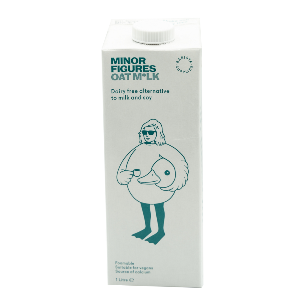 Minor Figures Oat Milk - Case of 6 - Hale Coffee Co.