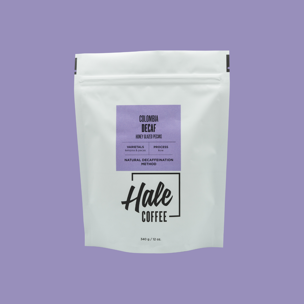 Colombia Decaf Coffee - Hale Coffee Co.