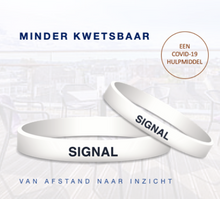 Afbeelding in Gallery-weergave laden, SIGNALBAND WIT