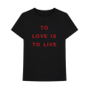 TO LIVE IS TO SIN T-SHIRT + DIGITAL ALBUM