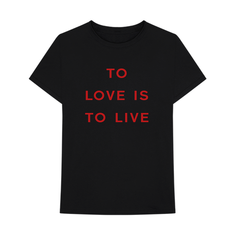 TO LIVE IS TO SIN T-SHIRT