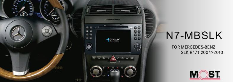 Details about DYNAVIN N7-SLK RADIO NAVIGATION SYSTEM, FOR MERCEDES SLK R171  2004-2010
