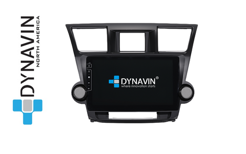 NEW! Dynavin X Series TY005x PRO Radio Navigation System for Toyota Highlander 2009-2014 - SHIPS IN 1-2 WEEKS
