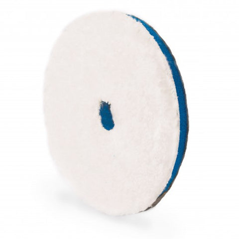 "Adam's 5.5"" Blue Microfiber Cutting Pad"