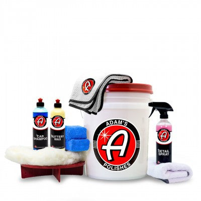 Adam's Basic Wash & Wax Kit