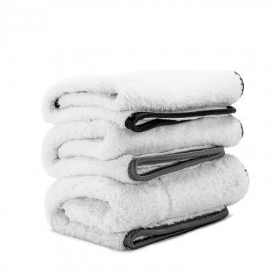 Adam's Fluffy Microfiber Towels 3 Pack (assorted)