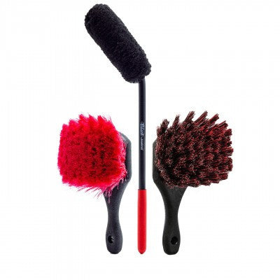 Adam's Wheel & Tire Brush Kit