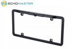 "1/3"" CMOS Slim Full Frame License Plate Backup Camera- Black (Front/Reverse)"