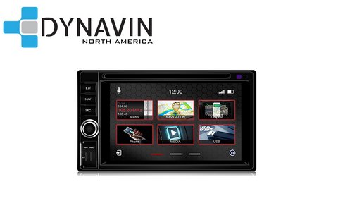 "NEW! Dynavin N7-6205 PRO Universal 6.2"" Double Din Radio Navigation System - SHIPS WITHIN 1 WEEK"