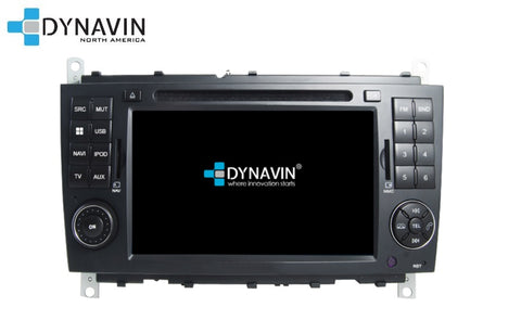 NEW! Dynavin N7-CLK PRO Radio Navigation System for Mercedes CLK 2005-2009 facelift W209 - SHIPS WITHIN 1 WEEK
