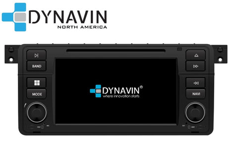 [OPEN BOX] Dynavin N7-E46 PRO Radio Navigation System for BMW 3 series 1998-2006