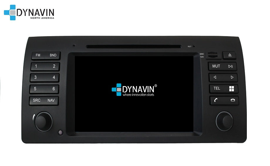 NEW! Dynavin N7-E53 PRO Radio Navigation System for BMW X5 1999-2006