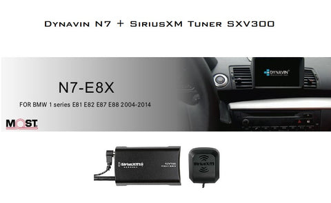 NEW! Dynavin N7-E8X PRO Radio Navigation System for BMW 1 Series 2004-2014  - SHIPS IN AROUND 3 WEEKS