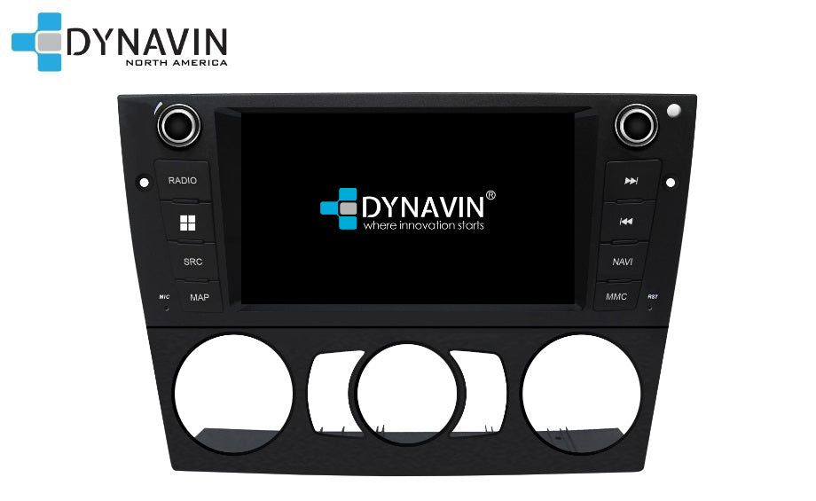 NEW! Dynavin N7-E9XM PRO (manual controls) Radio Navigation System for BMW E90/91/92/93 3 Series 2005-2011 - SPECIAL ORDER