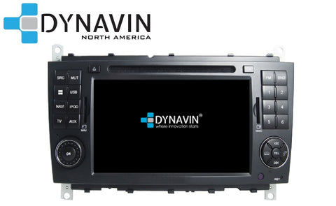 NEW! Dynavin N7-MBC PRO Radio Navigation System for Mercedes C Class W203 2004-2007