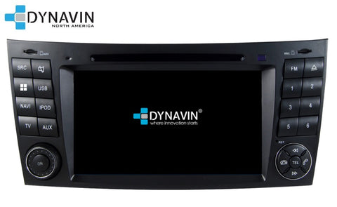 NEW! Dynavin N7-MBE PRO Radio Navigation System for Mercedes E Class 2002-2009, CLS 2004-2010 + MOST Adapter