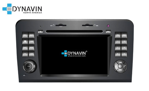 NEW! Dynavin N7-MBML PRO Radio Navigation System for Mercedes ML Class 2005-2011