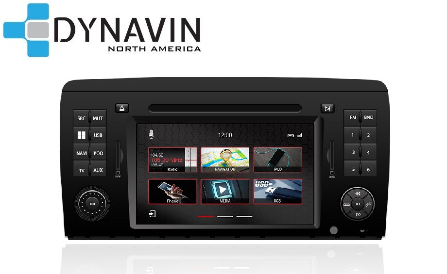 [CLEARANCE] Dynavin N7-MBR Radio Navigation System, for Mercedes R Class W251 2006-2014 + MOST ADAPTER