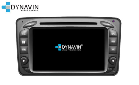 NEW! Dynavin N7-MC2000 PRO Radio Navigation System for Mercedes C Class and CLK