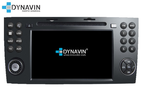 NEW! Dynavin N7-SLK PRO Radio Navigation System for Mercedes SLK R171 2004-2010 + MOST adapter