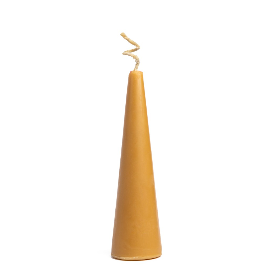 Beeswax Pillar Candle - 45 gm