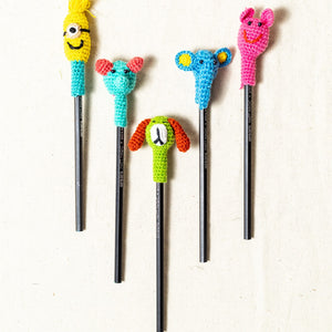 Crochet Pencil Top - Set of 5