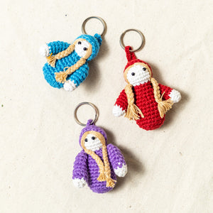 Doll Keychain (set of 3)