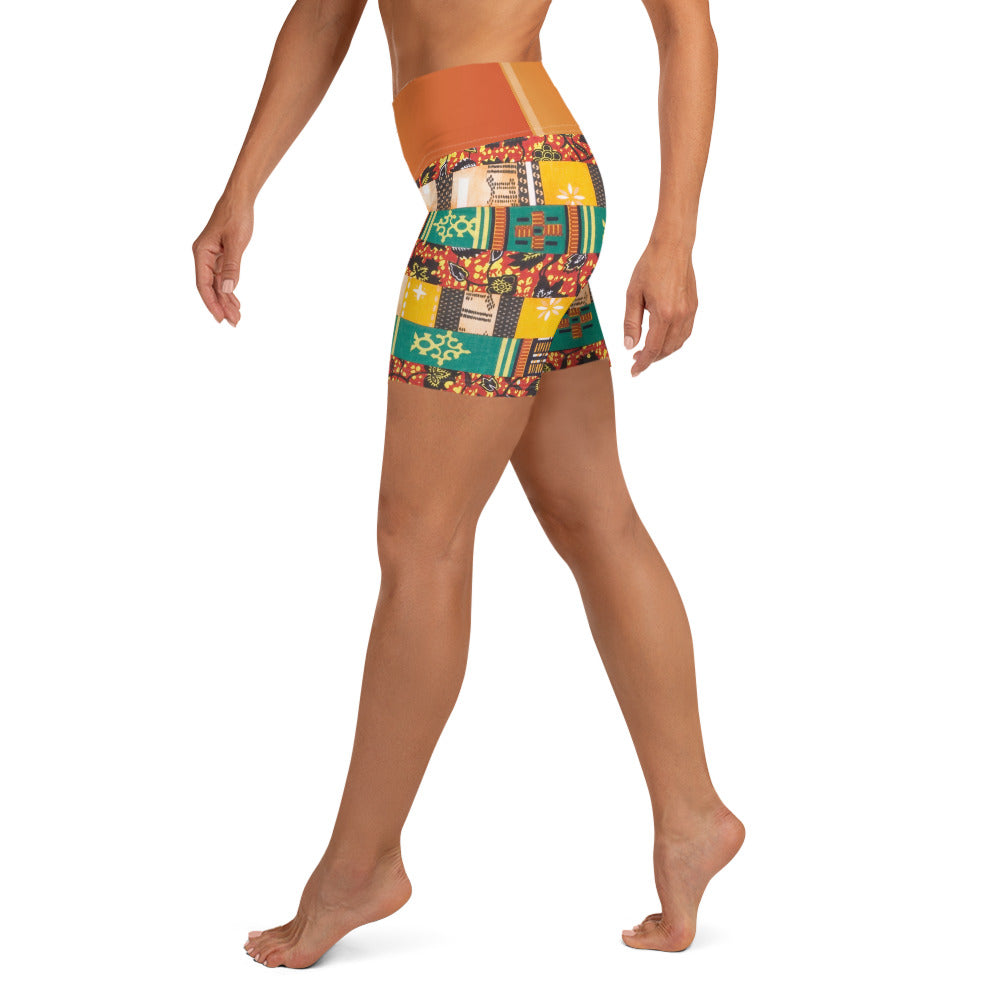 Yoga Shorts Women (Jamaican)
