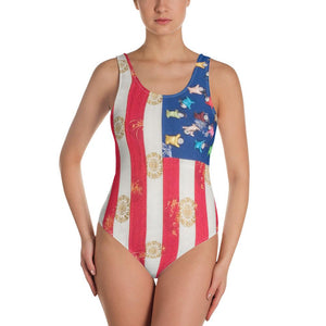 Swimsuit Women One-Piece (Chinese)
