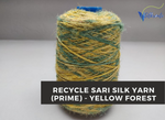 Recycled Sari Silk Yarn (Prime*) - Yellow Forest
