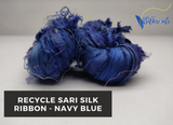 Recycle Sari Silk Ribbon