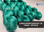 Linen Sportweight 2 PLY Yarn - Petal
