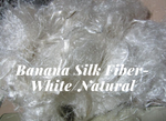 Banana Yarn Fiber - White