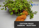 Cotton Frizz Ribbon - Mustard