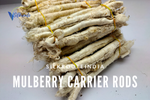 Mulberry Silk Carrier Rods