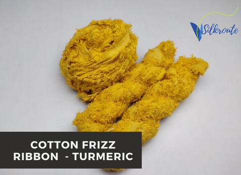 Cotton Frizz Ribbon - Turmeric
