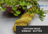 Cotton Frizz Ribbon - Butter