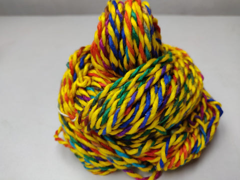 Candy Silk Yarn - DANDELION, Candy Silk, Candy Yarn, Mulberry Silk, Mulberry Silk Yarn, Mulberry Yarn, Socks Yarn, Sweater yarn, Yarn for knitting, Knitting Yarn, Crochet Yarn, Weaving Yarn, DIG yarn | SILKROUTEINDIA