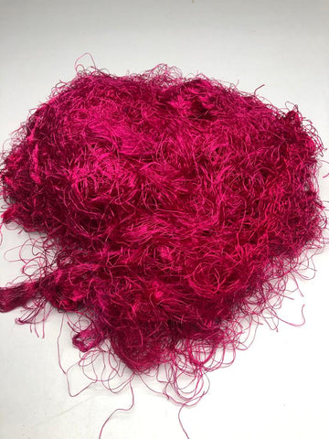 Banana Yarn Fiber - Hot Pink