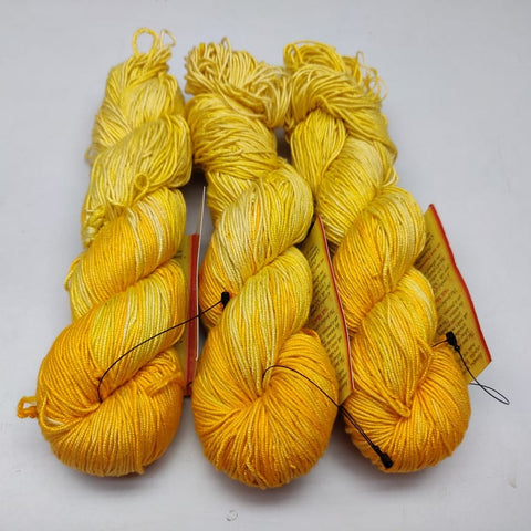 Alia Silk Yarn- LYDY, Alia Silk, Alia Silk Yarn, Alia Yarn, Mulberry Silk, Mulberry Silk Yarn, Mulberry Yarn, Socks Yarn, Sweater yarn, Yarn for knitting, Knitting Yarn, Crochet Yarn, Weaving Yarn, DIG yarn | SILKROUTEINDIA