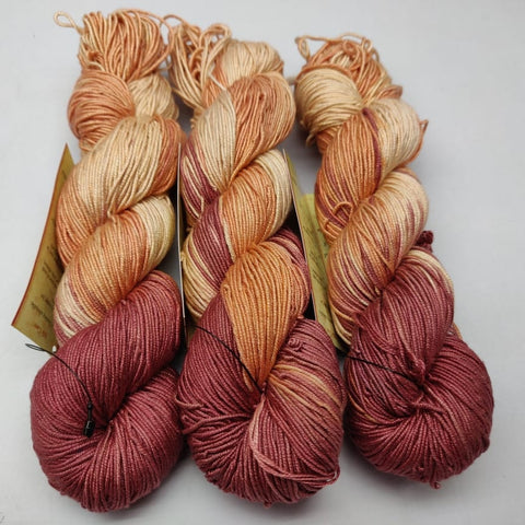 Alia Silk Yarn- RBGY, Alia Silk, Alia Silk Yarn, Alia Yarn, Mulberry Silk, Mulberry Silk Yarn, Mulberry Yarn, Socks Yarn, Sweater yarn, Yarn for knitting, Knitting Yarn, Crochet Yarn, Weaving Yarn, DIG yarn | SILKROUTEINDIA