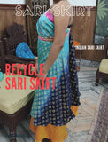Recycle Indian Sari Skirt - Buy 1 Get 2 Free - silk_routeindia