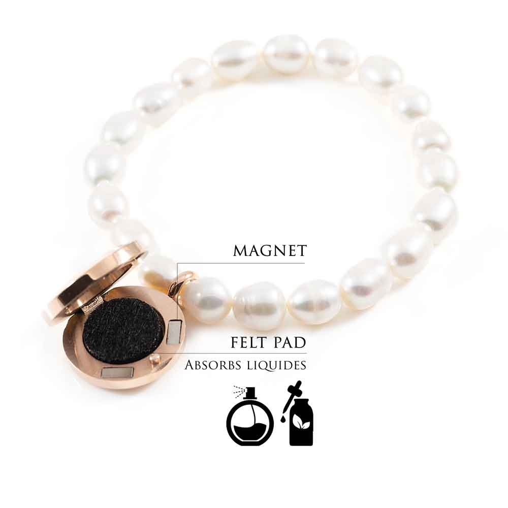 How to use fragrance pearl bracelet Lotus