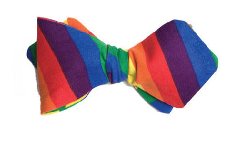 True Colors - Pride Rainbow bow tie