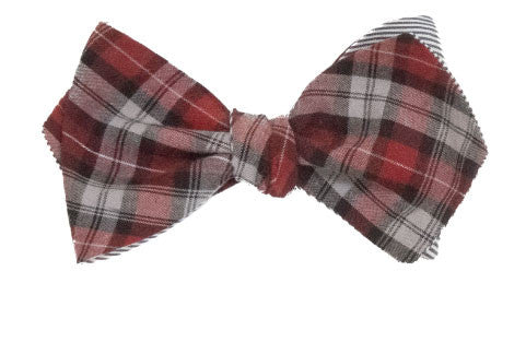 Le Sommelier - Red, Grey and Black cotton plaid