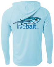 Load image into Gallery viewer, Flying Fish Long Sleeve Hoodie - LiveBait.com