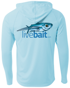 Flying Fish Long Sleeve Hoodie - LiveBait.com