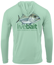 Load image into Gallery viewer, Blue Runner Long Sleeve Hoodie - LiveBait.com