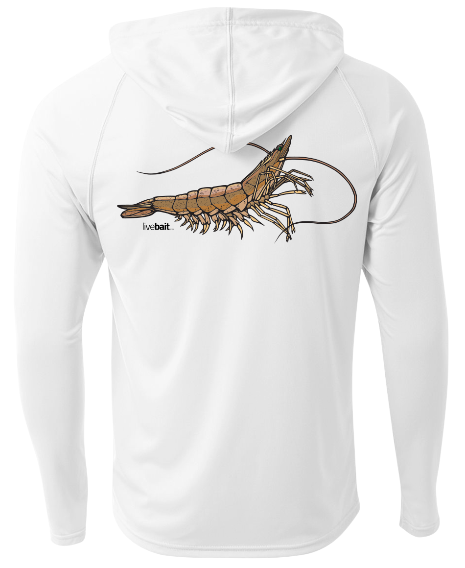 Shrimp Long Sleeve </br>Hood - LiveBait.com