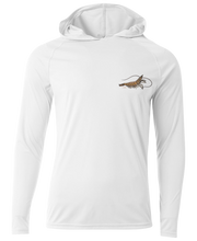 Load image into Gallery viewer, Shrimp Long Sleeve </br>Hood - LiveBait.com